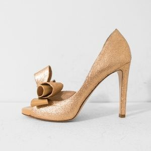 Valentino Couture Bow Pumps